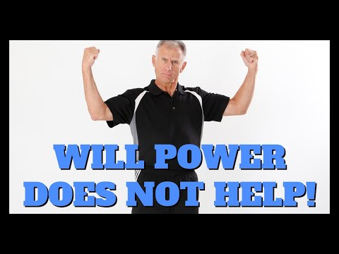 Will Power Will NOT Help You Exercise. What Will Help Is Surprising!