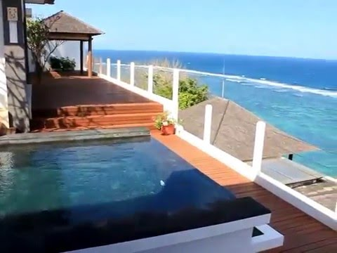 Bali Villa For Sale Luxury 3 Bedroom Ocean Front Freehold Beachfront Property Asmara Nusa Dua Youtube