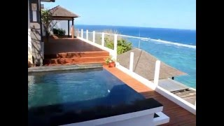 Bali villa for sale luxury 3 bedroom ocean front freehold beachfront property Asmara Nusa Dua