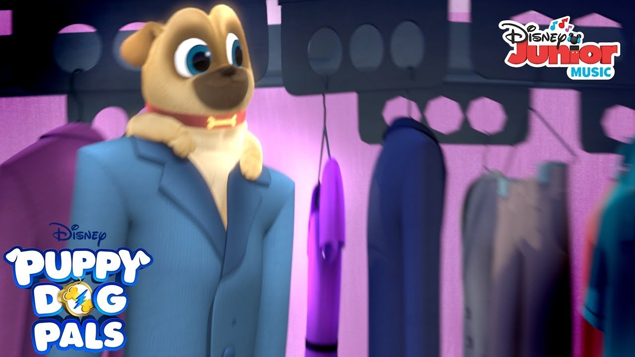 Dry Cleaner Puppy Party Music Video Puppy Dog Pals Disney