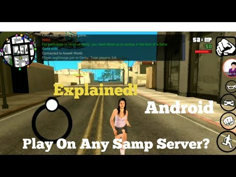 Play On Any Server| Samp Android| Explained - YouTube