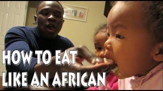 HOW TO EAT LIKE A TRUE AFRICAN 아프리카인처럼 먹기| KENYAN HUSBAND KOREAN WIFE 미국일상 먹요일 (2016 vlog ep.42)
