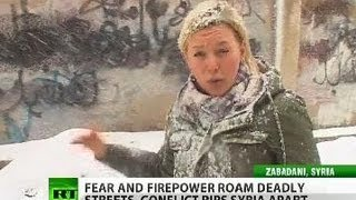 Blizzard amid bullet storm: RT on restless Syrian streets