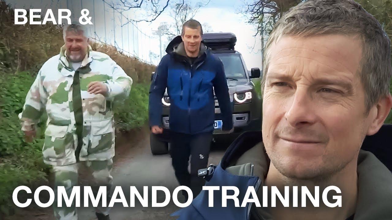 Can Bear pass the Commando test? - Bear &