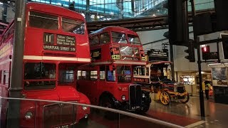 A Full Tour Of The London Transport Museum