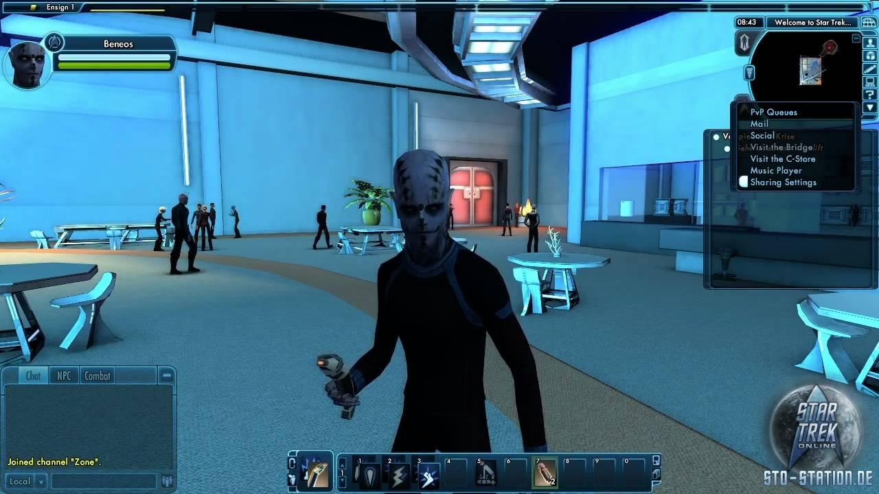 Star Trek Online - Gameplay Video - Tutorial Teil 1 ...