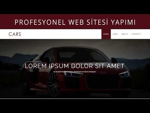 Profesyonel Web Sitesi Nasıl Yapılır? - Ders 1