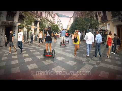 Madrid Segway alternative sightseeing tour