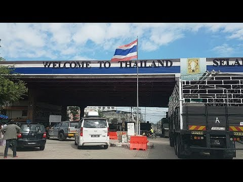 Road to Thailand + Drive From KL to Hatyai + Crossing the Sadao Border Guide (Dec 2017)