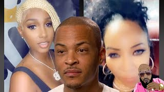 Tiny CLAPS At T.I. Side Chick Bernice Burgos New Hair And She Quickly Changes HAIR DO!