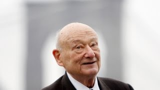 Ed Koch Remembered By Union Square Cafe