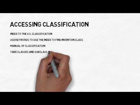 Accessing Classification--on USPTO