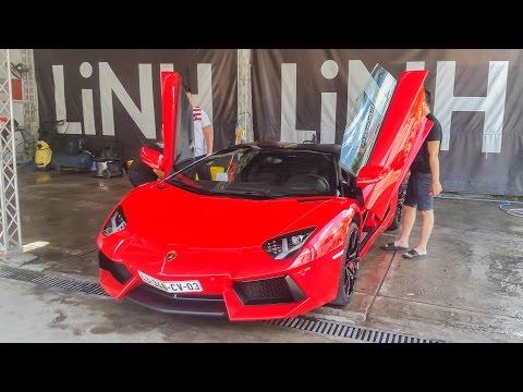 Cường Đô La bứt tốc cực nhanh với Lamborghini Aventador Roadster | XSX