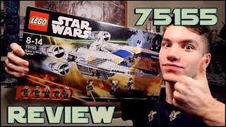 Lego Star Wars 75155 Rebel U-Wing Fighter Review | Обзор на ЛЕГО Звездные Войны 75155 Изгой-Один