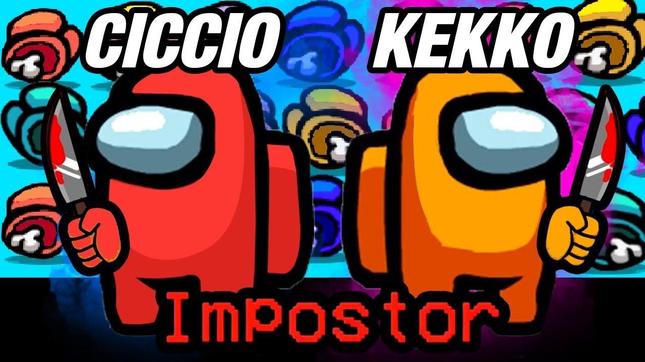 Download la COPPIA PERFETTA, io e KEKKO siamo gli Impostori! AMONG US 😈!