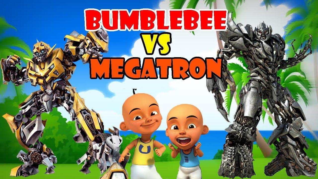 Upin Ipin & Bumblebee vs Megatron!! UPIN IPIN GTA LUCU ...