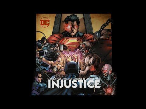 Un Vistazo de la Próxima Película Animada de DC, INJUSTICE - Subtitulado