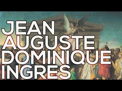 Jean Auguste Dominique Ingres: A collection of 157 paintings (HD)