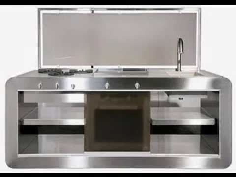 Compact kitchen design ideas - YouTube