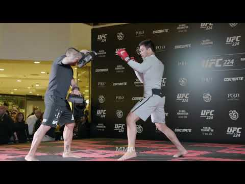 UFC 224: Lyoto Machida Open Workout Highlights - MMA Fighting