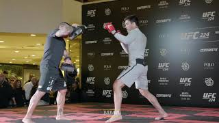 UFC 224: Lyoto Machida Open Workout Highlights - MMA Fighting