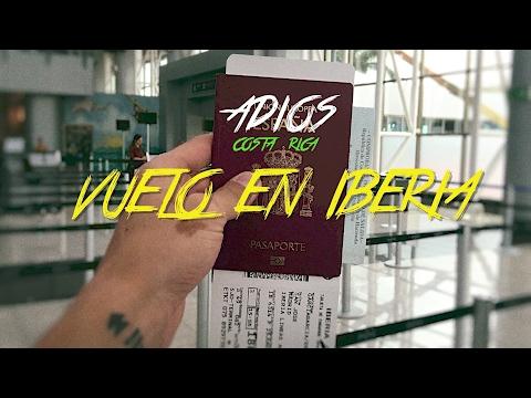 🇨🇷 VUELO EN IBERIA - SAN JOSE & MADRID - ADIOS COSTA RICA #41 - 2016 - Vlog, Turismo, Documental