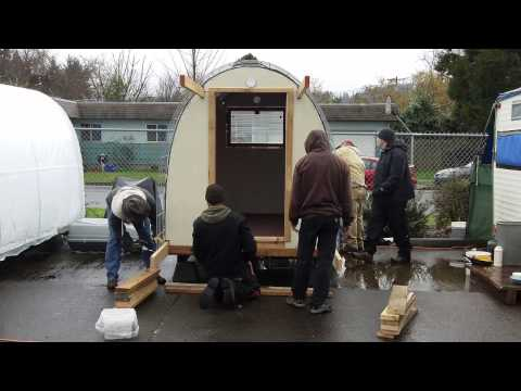 Community Supported Shelters: Building Conestoga Huts for the Homeless  Slideshow