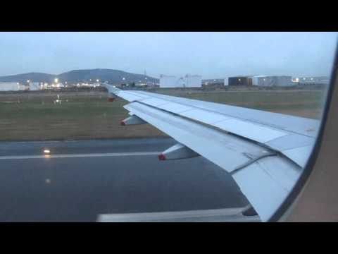 evening take off from Belfast City Airport