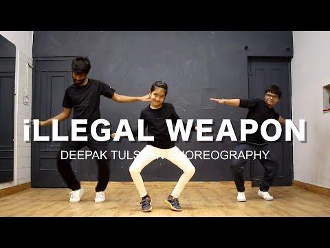 iLLEGAL WEAPON Dance Video | Deepak Tulsyan Dance Choreography | Jasmine Sandlas ft. Garry Sandhu
