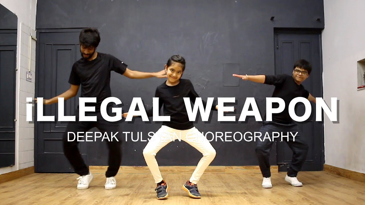 iLLEGAL WEAPON Dance Video | Deepak Tulsyan Dance Choreography | Jasmine Sandlas ft. Garry Sandhu