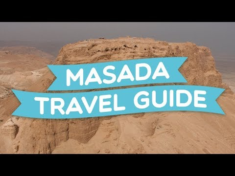Masada for visitors