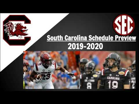 South Carolina Football Schedule Preview 2019