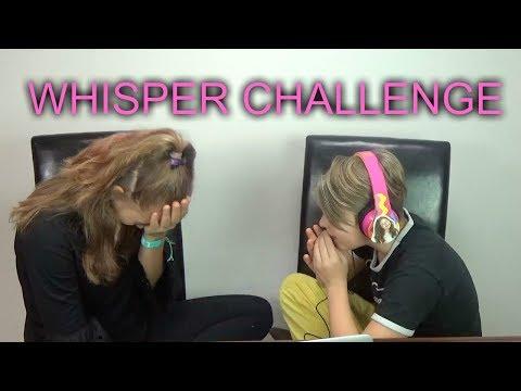 WHISPER CHALLEGE + zkus se nesmát  /LEA