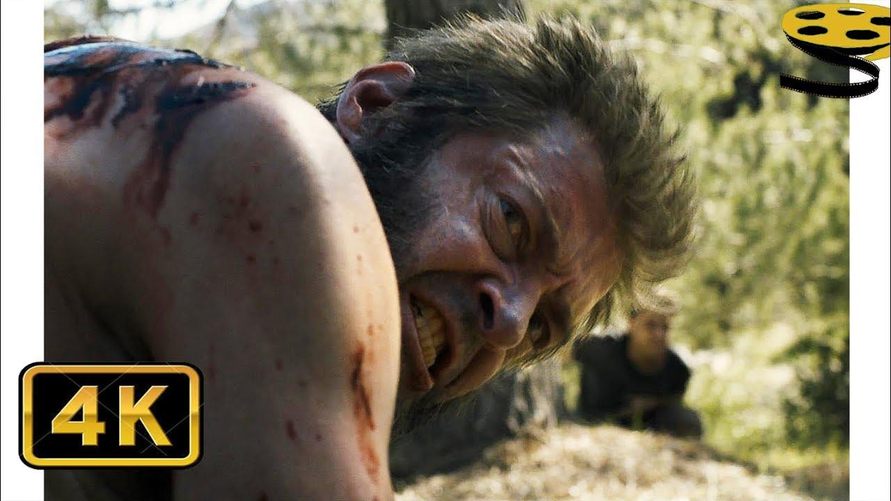 Логан против Икс-24 (Финальная Битва) | Логан (2017) | 4K ULTRA HD
