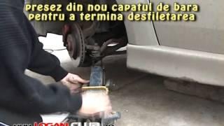 Замена наконечника рулевой тяги Рено Логан