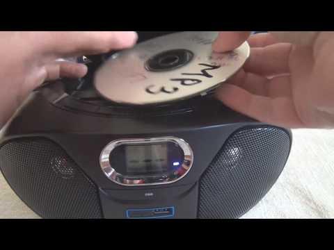 Funktionsprüfung Philips AZ 382 Radio CD Recorder (MP3-CD, USB)