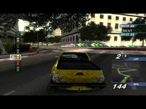 Ford Street Racing for pc with my car : Ford F-150 SVT (race 5)