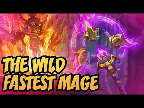 The Wild Fastest Mage! | Saviors Of Uldum | Hearthstone
