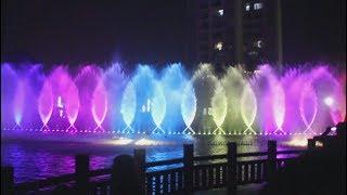 jingxiu jiangshan park dgital water fountain DMX LED lights 2016 show screenshot 4