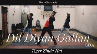 Dil Diyan Gallan | Tiger Zinda Hai | Salman Khan | Katrina Kaif | Dance Choreography