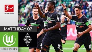 VfL Wolfsburg Borussia M gladbach 1 3 Highlights Matchday 7 Bundesliga 2021 22