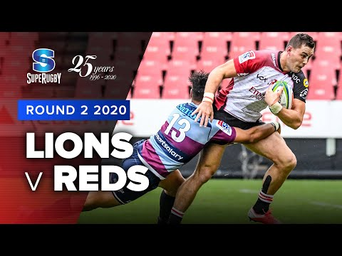 Super Rugby 2020 | Lions v Reds - Rd 2 Highlights
