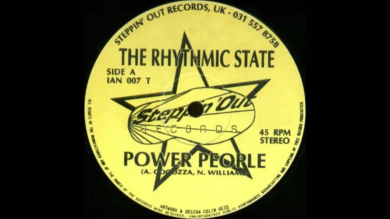 The Rhythmic State - Power People - YouTube