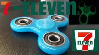 7-Eleven Fidget Spinner unboxing, review, and giveaway.  Glow in the dark fidget spinner.