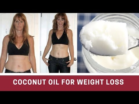 how does coconut oil help you lose weight-coconut oil weight loss