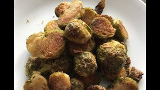 How To Bake Roasted Brussels Sprouts Clean Eating Recipe