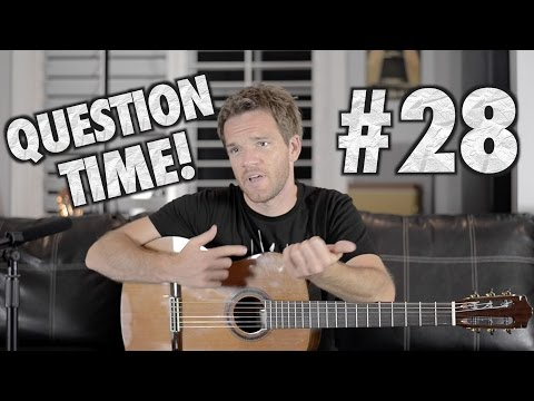 Question Time! Jack White, Jazz III, and Pentatonic Positions