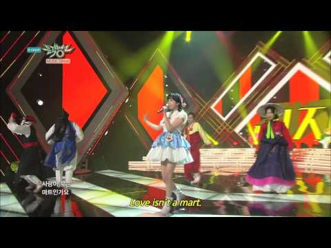 Lizzy - Not An Easy Girl | 리지 - 쉬운 여자 아니에요 [Music Bank HOT Stage / 2015.01.30]