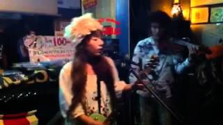 冴木まゆ 森からエナジー バイオリンコラボ 20120405 渋谷ガビガビ vo g...