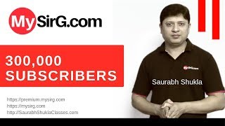 3 Lakh Subscribers   Congratulations MySirG Family